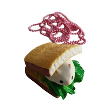 Load image into Gallery viewer, Ltd. Pop Cutie Cafe' Ham Necklaces