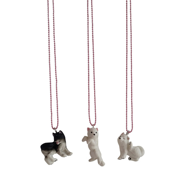 Ltd. Pop Japanese Dog Necklaces