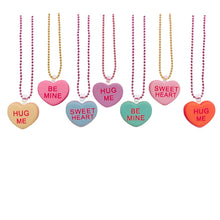 Load image into Gallery viewer, Pop Cutie Gacha Conversation Heart Necklaces
