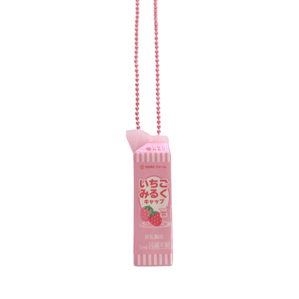 Pop Cutie Gacha Milk Necklaces