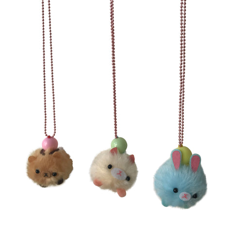 Ltd. Pop Cutie Pom Pom Pet Necklaces
