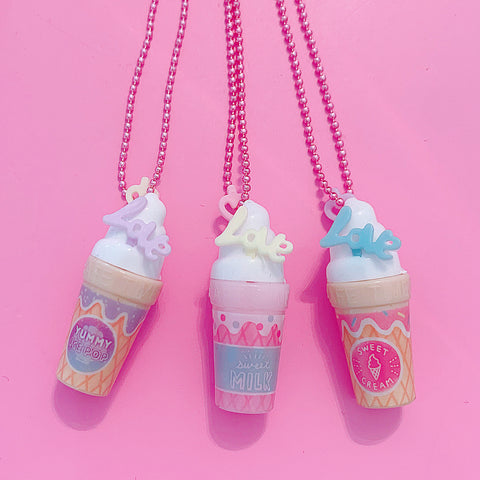 Ltd. Pop Cutie Gacha Kawaii Sundae Necklaces