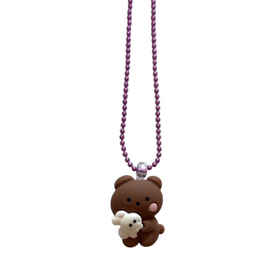 Pop Cutie Gacha Bear Necklaces