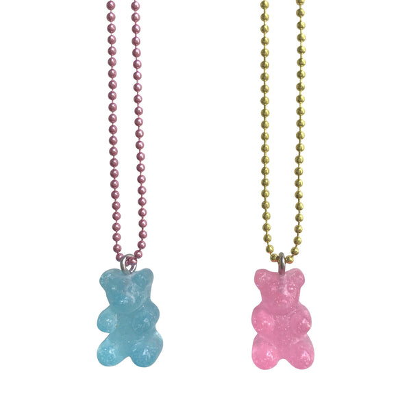 Pop Cutie Gacha Sparkle Gummy Bear Ver.2 Necklaces