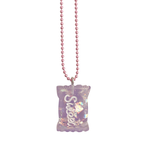 Pop Cutie Gacha Glitter Candy Necklace