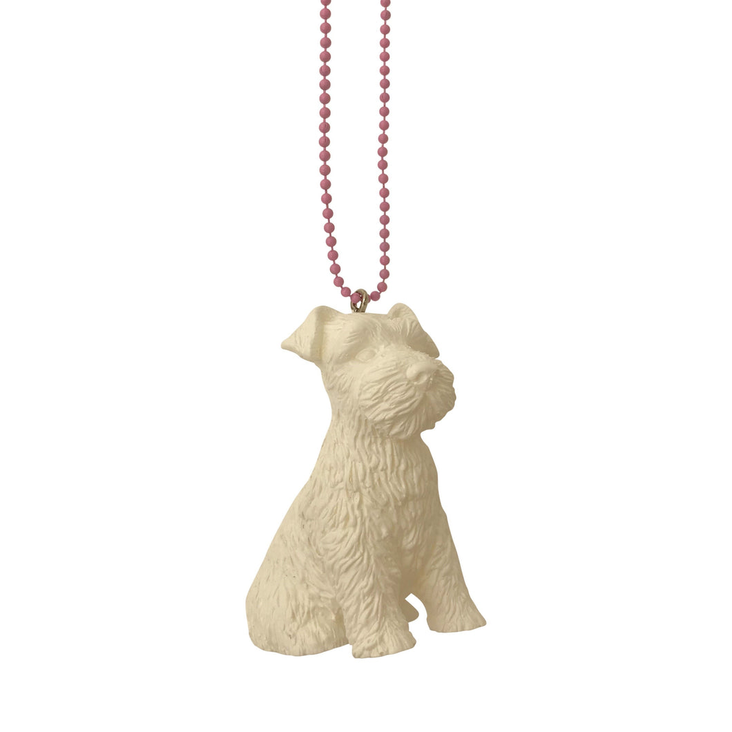 Pop Cutie Marshmallow Dog Necklaces