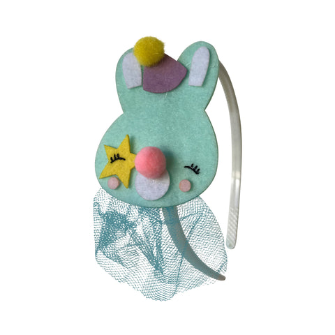 Pop Cutie Bunny Clown Headband