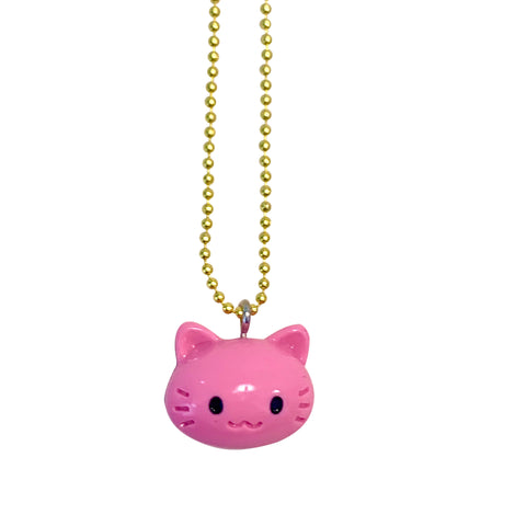 Pop Cutie Gacha Color Cat Necklaces