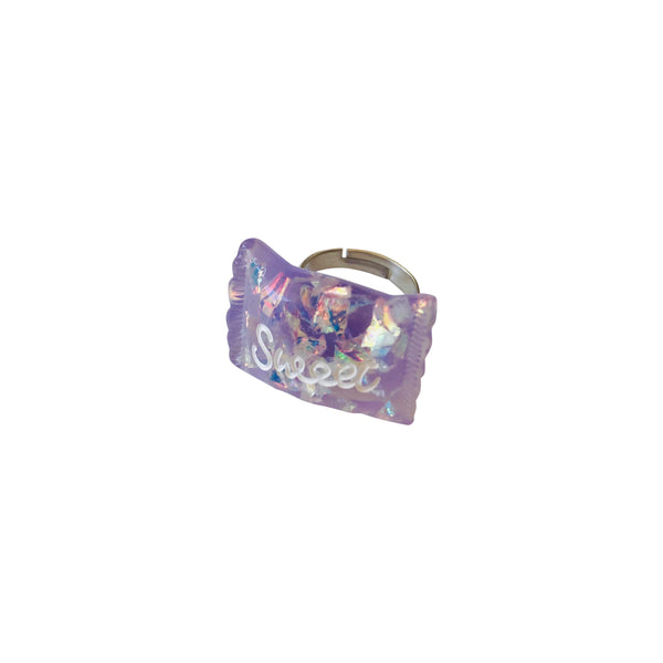 Pop Cutie Glitter Candy Ring