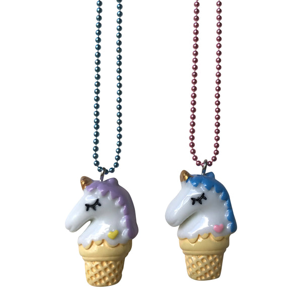 Pop Cutie Gacha Unicone Necklaces