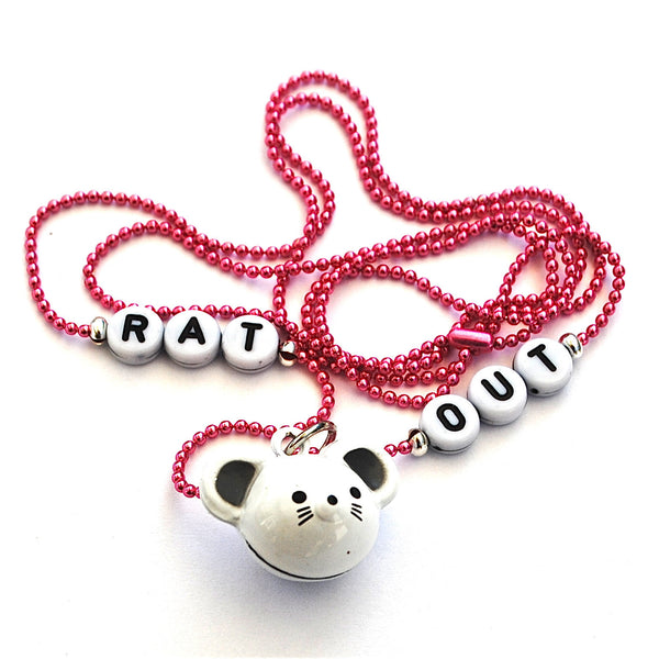 Pop Cutie Scrabble Necklace Rat
