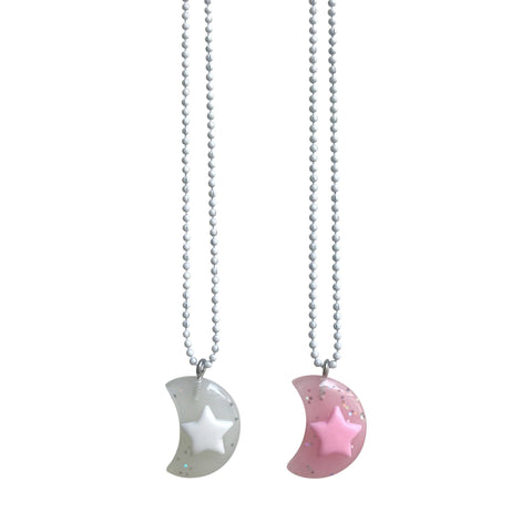 Pop Cutie Gacha Moon Necklaces