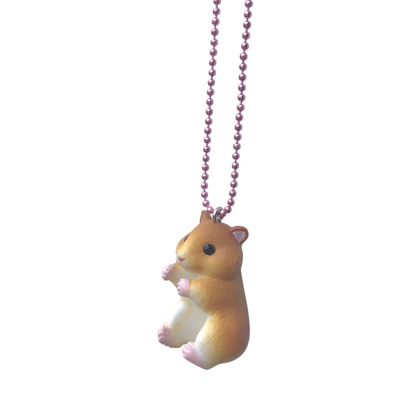 Ltd. Pop Cutie Hugging Hamster Necklaces