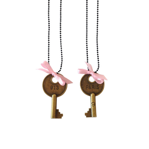 Pop Cutie Hotel Key Necklace