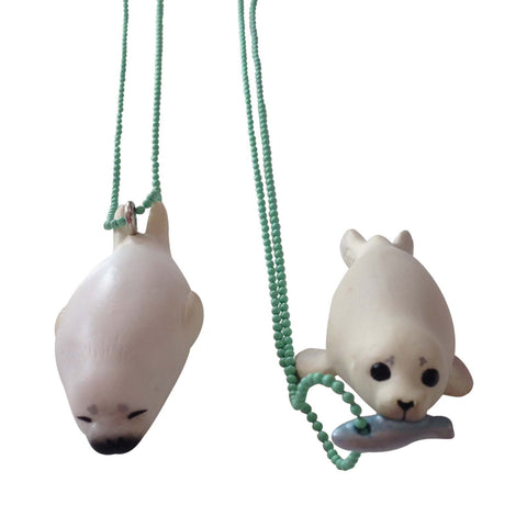 Ltd. Pop Cutie Seal Necklace