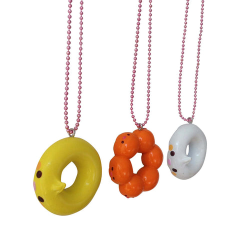 Ltd. Pop Cutie Doughnut Bird Necklace