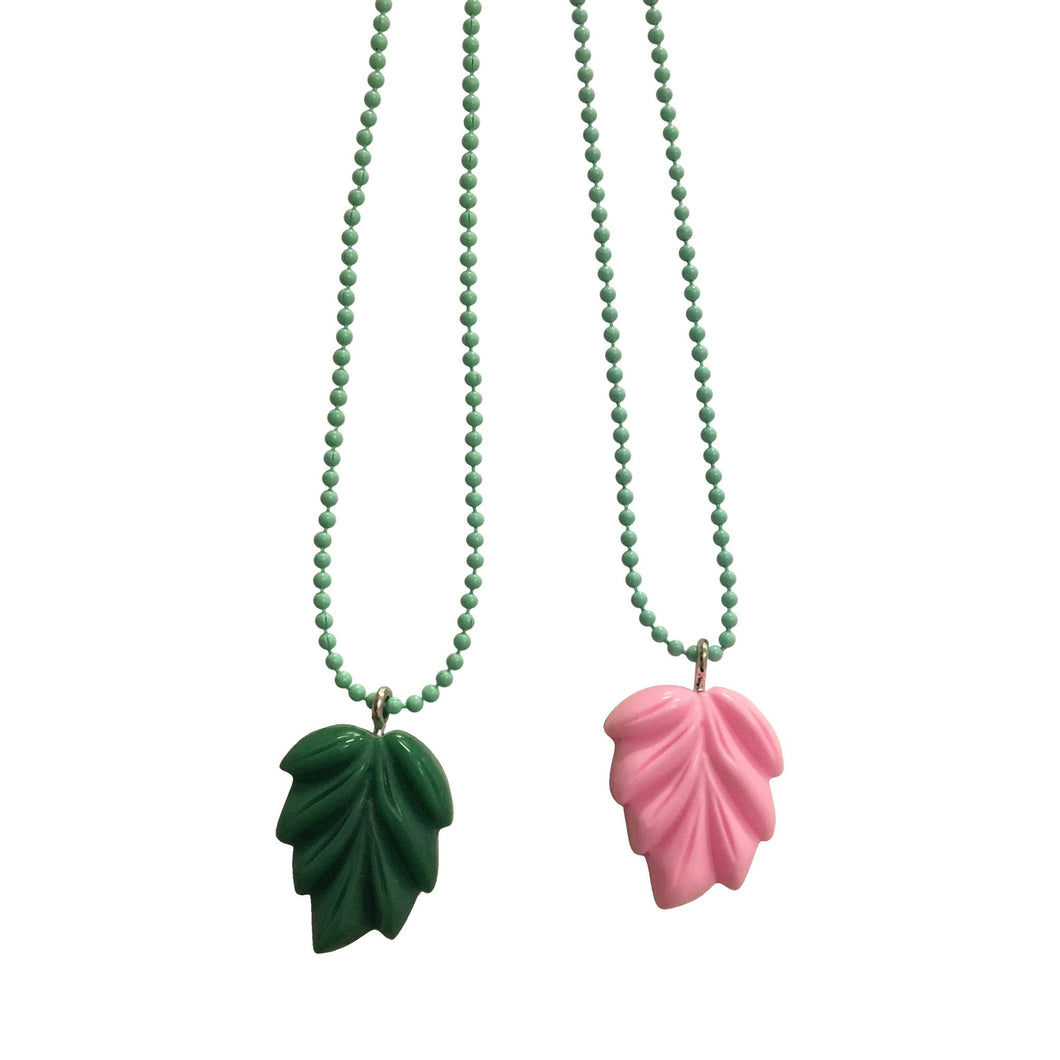 Pop Cutie Gacha Leaf Necklaces