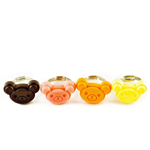 POP CUTIE Teddy Cookie Ring