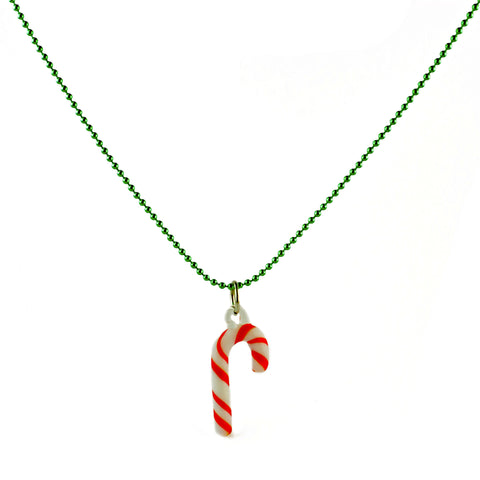 Ltd. Pop Cutie Xmas  Candy Cane Necklace