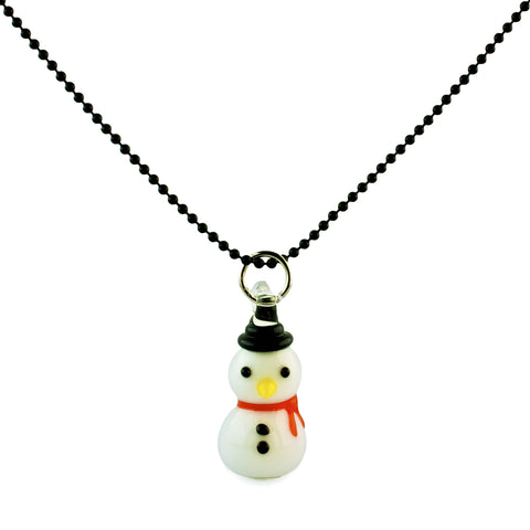 Ltd. Pop Cutie Xmas Snowman Necklace