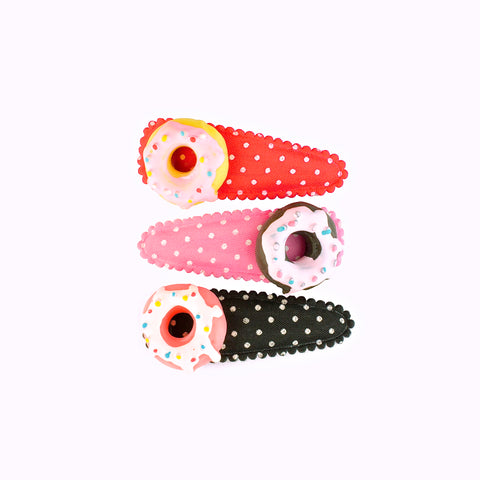 Pop Cutie Doughnut Hair Clips