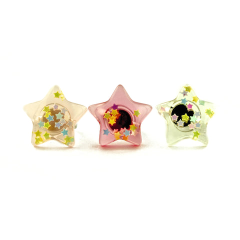 POP CUTIE Confetti Star Ring