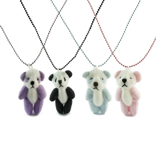 Pop Cutie Panda Plush Necklace