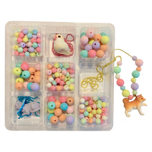 Load image into Gallery viewer, Deluxe Pop Cutie Necklace DIY Box (Make your own necklaces)