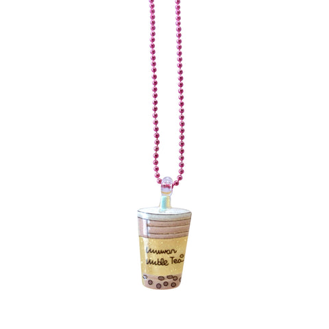 Pop Cutie Gacha Lemon Boba Necklaces - 12 pcs. Wholesale