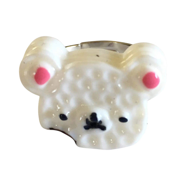 Pop Cutie Cookie Teddy Ring