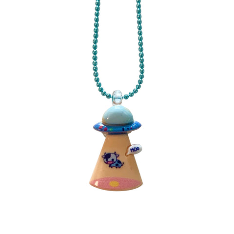 Pop Cutie Gacha UFO Necklaces