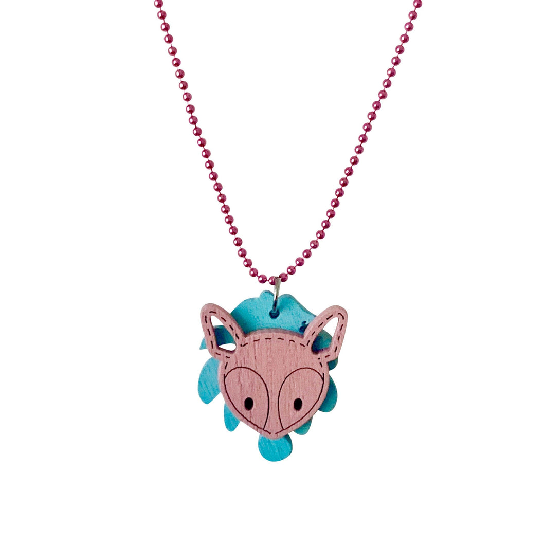Pop Cutie ECO Palm Deer Necklace