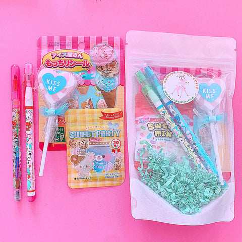 Pop Cutie Japanese Stationery Surprise Gift Bag