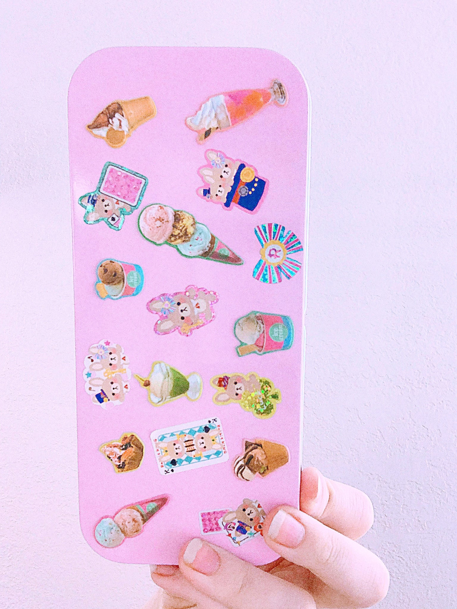 Pop Cutie DIY Japanese Pen Case with Stickers x 2 Sheets