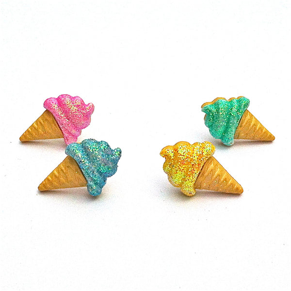 Pop Cutie Sparkle Ice Cream Earrings