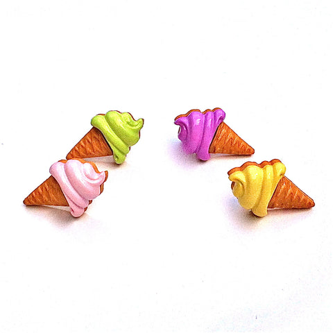 Pop Cutie Milky Ice Cream Earrings