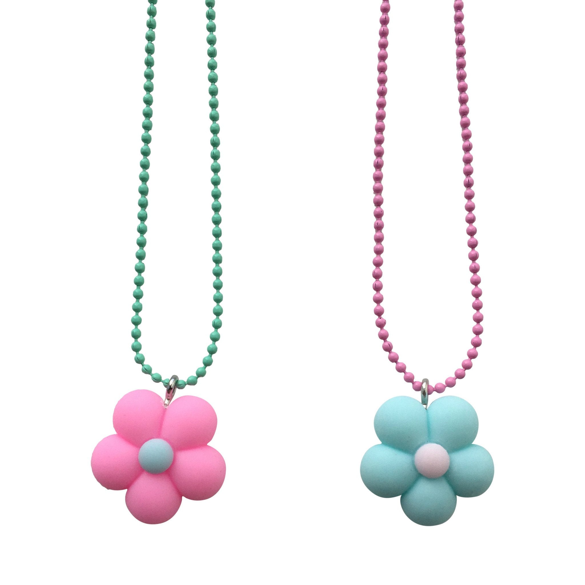 Pop Cutie Gacha Flower Necklaces