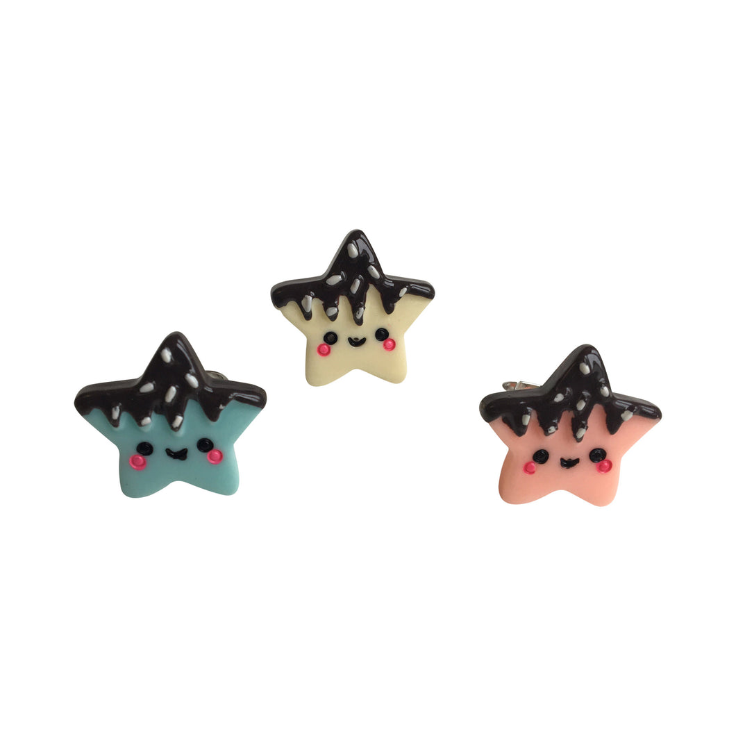 POP CUTIE Choco Star Ring