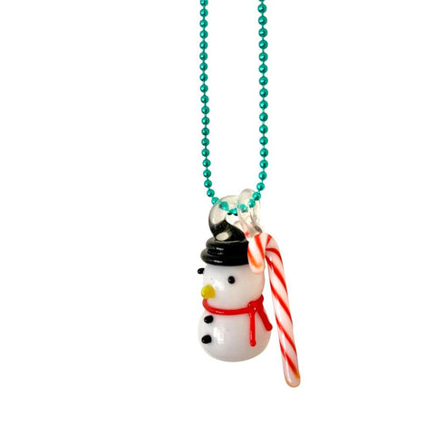 Ltd. Pop Cutie Candy Snowman Necklace