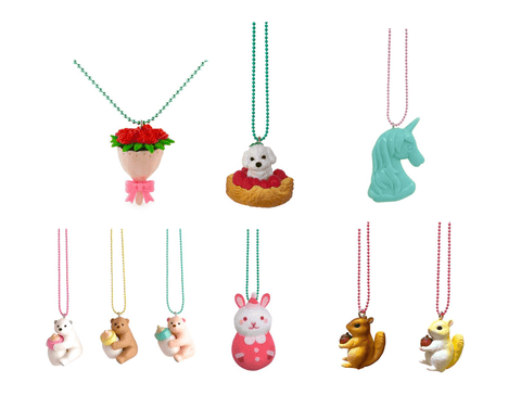 10 pcs Surprise Pop Cutie Necklaces for only $80 (Value $160-190) gacha ltd.