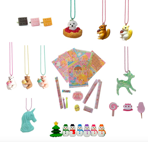 Pop Cutie Surprise Bag (24 items) -  Ltd. Necklaces  Gacha Rings