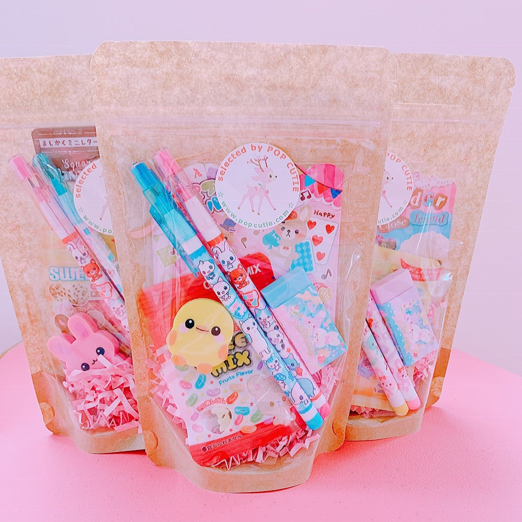 Pop Cutie Japanese Stationery Gift Bag