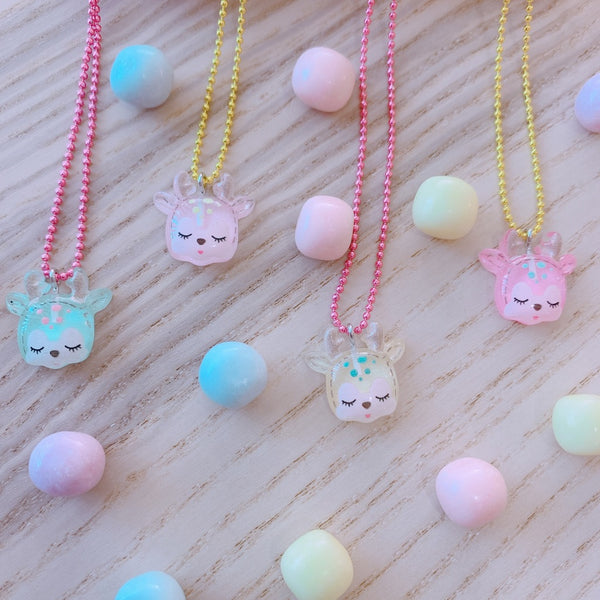 Pop Cutie Gacha Candy Deer Necklace