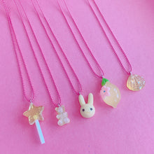 Load image into Gallery viewer, Pop Cutie Gacha Color Bunny Necklaces