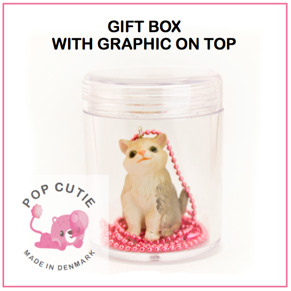Ltd. Pop Cutie Glitter Cat Necklaces