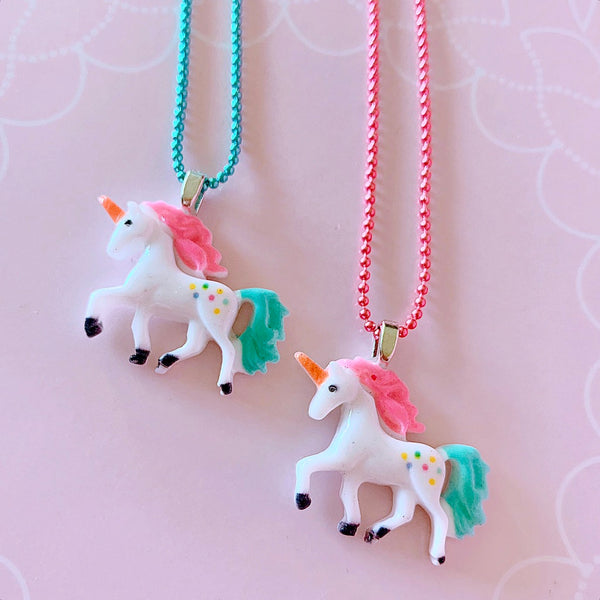 Pop Cutie Gacha 90's Unicorn Necklace