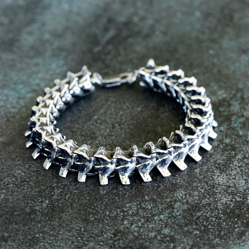 "Sterling Silver Men's Bracelet ""Nag"""