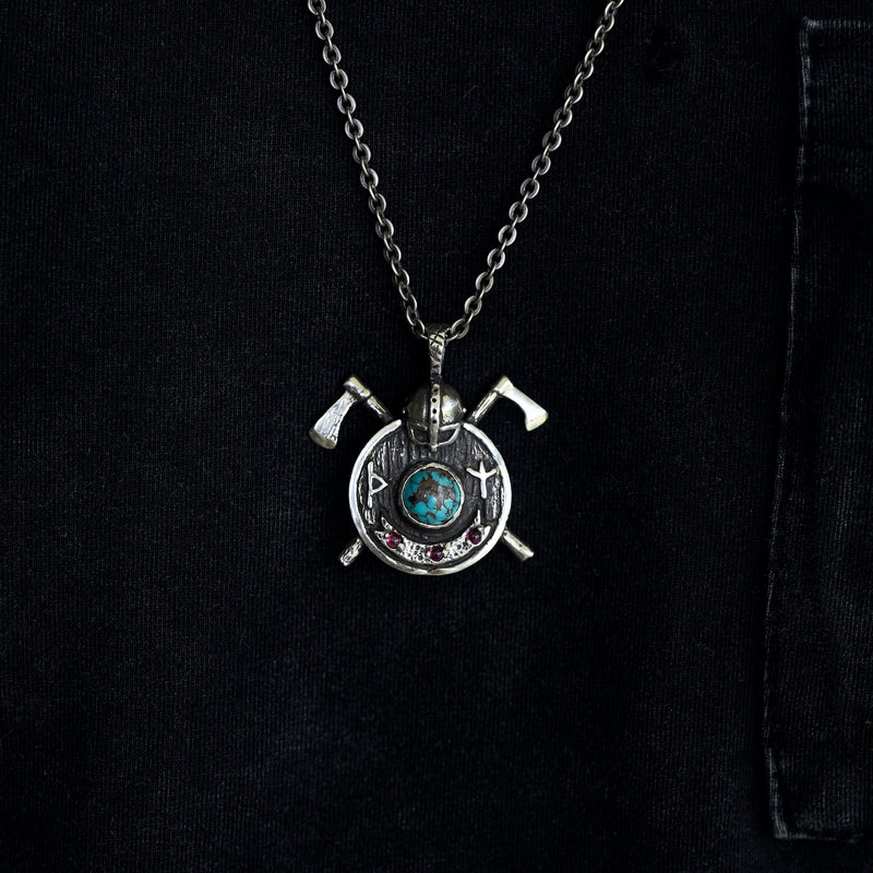 Viking pendant for men