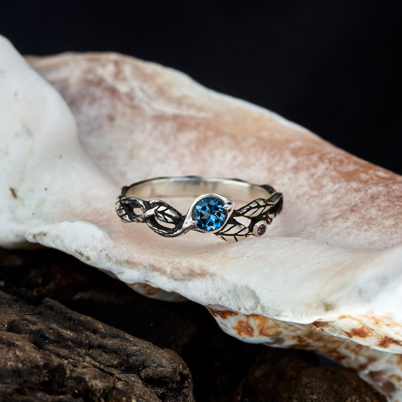 "London Blue Topaz Ring ""Belle"""