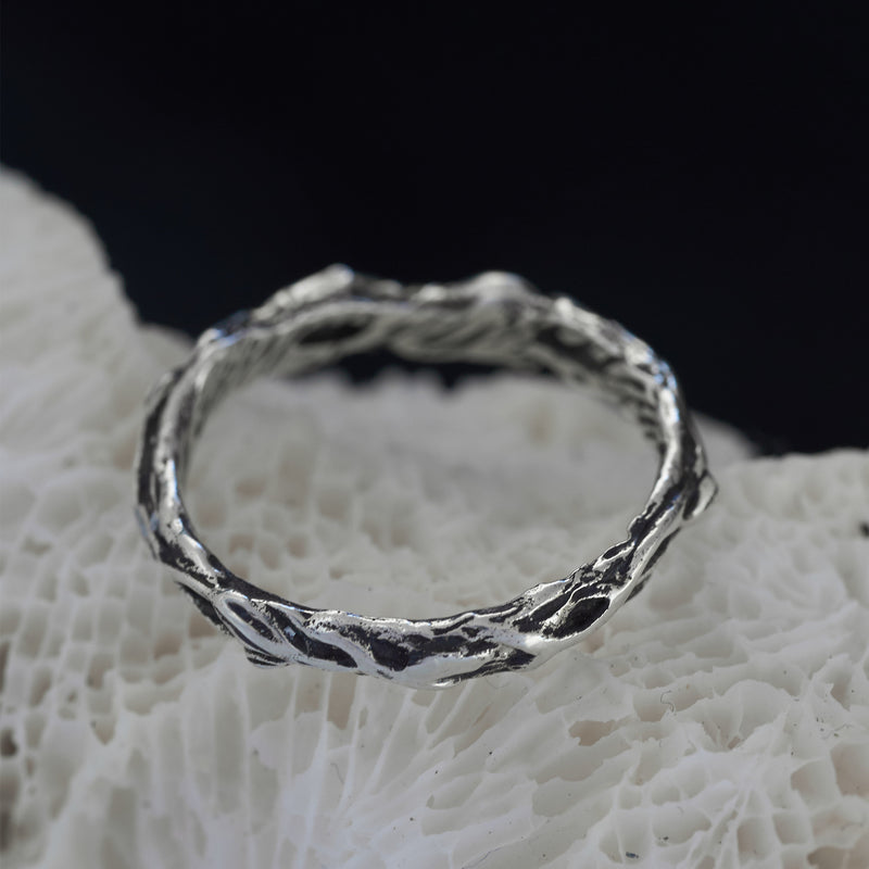 "Women's wedding band ""Louise"""